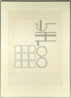 Køb og salg af moderne billedkunst og malerier - Ole Schwalbe. Komposition, akryl på pap, cd - DK, Roskilde, Store Hedevej
