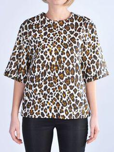 STELLA MC CARTNEY Top stampa leopardohttp://www.dipierrobrandstore.it/product/1891/Top-stampa-leopardo.html