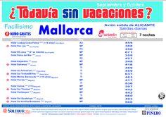 Mallorca: 4ª Edición Todavia sin vacaciones. Hoteles en Mallorca salidas desde Alicante - http://zocotours.com/mallorca-4a-edicion-todavia-sin-vacaciones-hoteles-en-mallorca-salidas-desde-alicante/