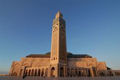 Hassan II Mosque, Casablanca in Morocco Tenerife, Tanzania, Imperial City, Marrakech, Morocco Casablanca, Semester At Sea, Cities, Beautiful Mosques, Beautiful Places