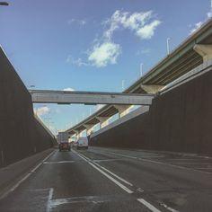 #flyover #bluesky #tarmac #dartford #dartfordcrossing #motorway #tunnel #m25