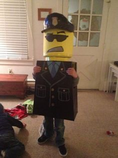 LEGO Man Costume: This is my first instructable so I apologize if its long winded but I'll do my best to explain :) Lego Halloween Costumes, Lego Man Costumes, Lego Costume, Diy Costumes, Trunk Or Treat, Pictures, Photos, Drawings