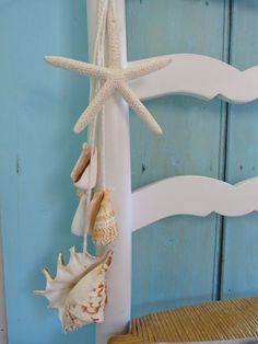 seashell garland by beachcomberhome on Etsy, $22.00