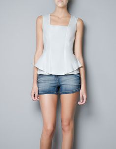 FRILL TOP - Shirts - Woman - ZARA United States