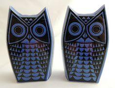 Vintage Hornsea Pottery 1960s Owl Salt & Pepper Cruet by John Clappison | eBay