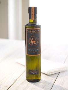 Capriolo Extra Virgin OliveOil - The Dieline -