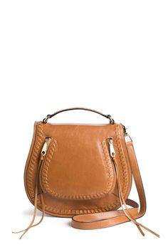 Rebecca Minkoff Vanity Italian Leather Saddle Bag - Stitch Fix Style Quiz - Referral link included - When you use my link, I receive a small credit towards my next fix -