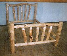 How to build log furniture - Tru-Craft Log Specialties explains how to build log furniture in this article at LogHomeLinks.com.