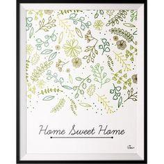 Plakát Home, 40x50 cm