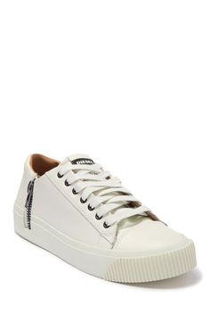 White Sneakers, Leather Sneakers, Car Seat Cover Sets, Nordstrom Rack, Diesel, Car Seats, Tennis, Lace Up, Zip