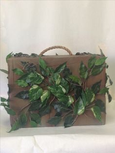 Suitcase prop for Peter Pan to carry in Shrek the Musical