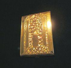 Wadsworth cigarette case 1950s gold business card case or credit golden wheel cigarette case 1940s holographic business card case credit card holder colourmoves