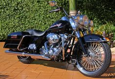 Road King with 21in. spokes - Harley Davidson Forums