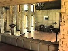Ennis House. Frank Lloyd Wright. Textile Block Period. 1924. Los Angeles, California