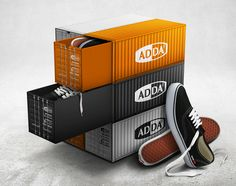 Adda Container Shoe Box on Packaging of the World - Creative Package Design Gallery