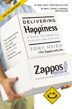 Delivering Happiness: A Path to Profits, Passion, and Purpose by Tony Hsieh,http://www.amazon.com/dp/0446576220/ref=cm_sw_r_pi_dp_kNamtb0H3WH1JA63