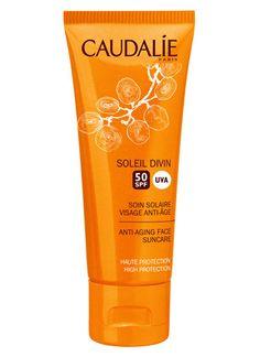 Caudalie Soleil Divin Anti Aging Face Suncare SPF50 - Caudalie