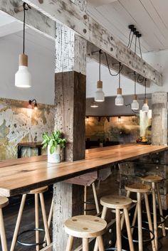 Aydınlatma ve Dekor Dünyasından Gelişmeler: Techne'den Melbourne'de The Nelson Bar Aydınlatma #aydinlatma #lighting #design #tasarim #dekor #decor