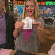 Clinton's Craft Corner: Shirt & Tie Father's Day Cards