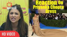 Parineeti Chopra Reaction On Priyanka Chopra Dress Reaction On Priyanka Chopra Troll On Dress