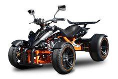 Spy-Quad 250 ccm kaufen und fahren – eine Leidenschaft