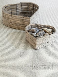 Bring the beauty of nature into flooring with a coarse, loop pile carpet. It ties a country scheme of old and new together making the perfect neutral backdrop for rustic furniture and vintage finds. Living Naturals is available in pinstripe; rib and weave design and retails from £22 sq m. Shown in colour: Elm