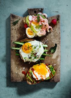 Eggs on toast. - Sunny Mediterranean beaches and first-rate nightlife are not…