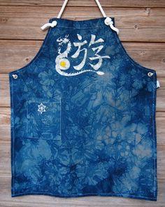 Custom made batik Apron – GoodNews