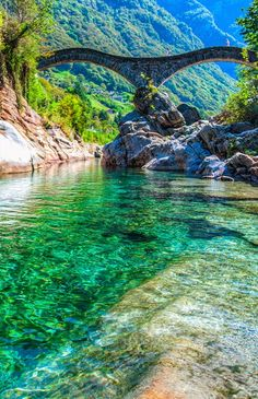 Valle Verzasca, Switzerland.