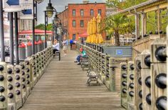 Cape Fear Wilmington NC | Boardwalk on the Cape Fear River front Wilmington, NC | Flickr - Photo ...