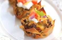 50 Meals You Can Make in a Muffin Tin - taco cupcakes