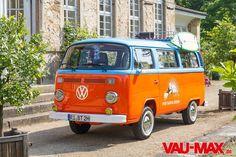 VAU-MAX.de - Bild - VW T2 als junggebliebener Surf-Bus - Busreisen mal etwas anders - Die gar nicht so katastrophale Geschichte vom Katastro...