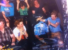 Hilarious Rollercoaster pictures