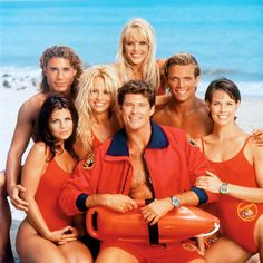 """I'll admit it, I was a big """"Baywatch"""" fan growing up. Pamela Anderson as C.J. Parker and Jaason Simmons as Logan Fowler were my favourites!"""