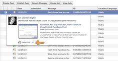How to View the Comments on a Dark or Unpublished Facebook Post -> I get asked this a lot!
