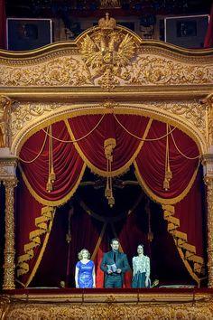 Miniature proscenium arch theatre