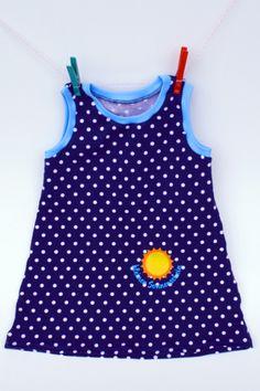 """Kleidchen """"Kleiner Sonnenschein"""" von Dörnchen auf DaWanda.com"""