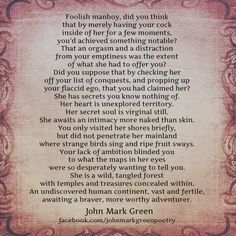 This poem is worth the read,so dead on.