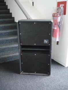 Electro Voice EV 2x15 Bassbox (Schweiz) in Schleswig-Holstein - Kattendorf | Musikinstrumente und Zubehör gebraucht kaufen | eBay Kleinanzeigen