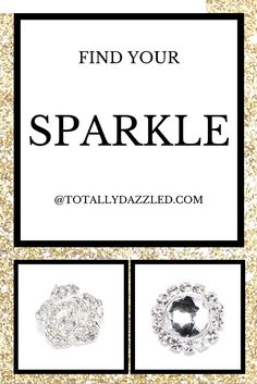 Get inspired with Totally Dazzled! Wow guests at your next event with our beautiful variety or rhinestone supplies. Napkin rings, buckles, buttons and more! Place your order at totallydazzled.com and we will ship it to you within one business day. Let us dazzle you!