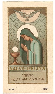 Image result for Blessed Holy Mother Mary art deco