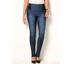 Tregíny s elastickým pásom | modino.sk #ModinoSK #modino_sk #modino_style #style #fashion #zima #bestseller #winter Legging, Couture, Skinny Jeans, Model, Pants, Denim, Products, Fashion, Drop Crotch