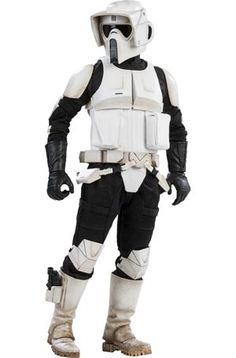 #StarWars Episode VI Return Of The Jedi Scout Trooper 12-Inch Action Figure