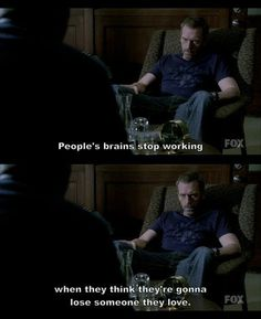 house and cuddy quotes - Google Search