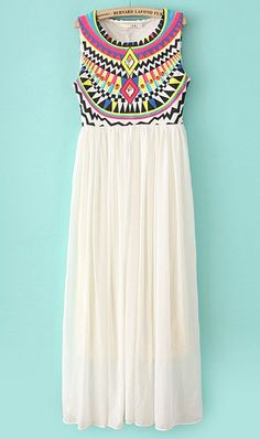 Cute Cheap Colourful plaid vest dress X967 White - Sleeveless Online Shopping Free Shipping