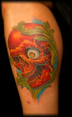 Ink Master: Winning tattoo by Shane O'Neill.    My next tattoo is totally getting done by him.