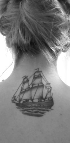 This is my beautiful ship. It was a Christmas gift from my boyfriend. He just got out of Navy boot camp and being far from one another has been hard on us both. It's not easy, but it is comforting to carry a piece of him with me always. Sometimes you just have to look towards the future in order to survive the present.