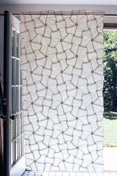 Origami Curtain