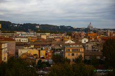 Panorama Zatybrza (Trastevere) w Rzymie z Awentynu / Panorama of Trastevere, #Rome  Więcej: http://gdziewyjechac.pl/23578