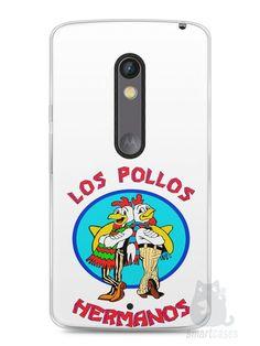 Capa Capinha Moto X Play Breaking Bad Los Pollos Hermanos #1 - SmartCases - Acessórios para celulares e tablets :)